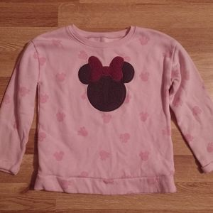 Disney Jumping Beans Minnie Mouse fleece, sz 5